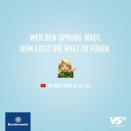 Bundeswehr Recruiting Visual